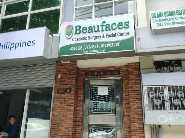 Beaufaces Cosmetic Surgery Center – Manila