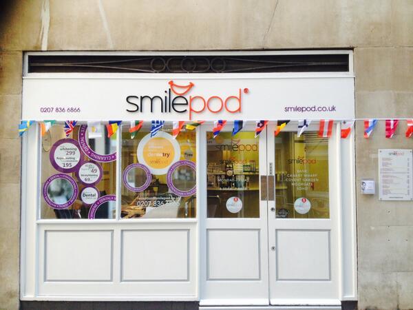 Smilepod – Covent Garden